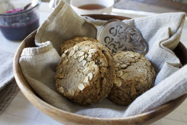 Oat & Almond Scones